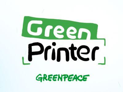 Green Printer